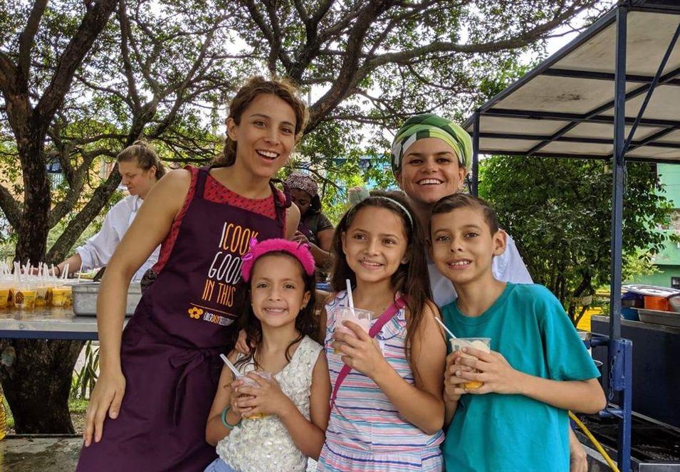 Medellin kocht über den Tellerrand