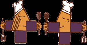 Zwei Köche Icon - Über den Tellerrand