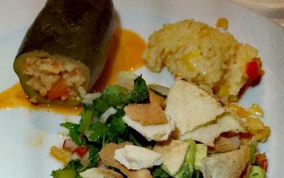 Rezept: Libanesischer Fattouche Salat
