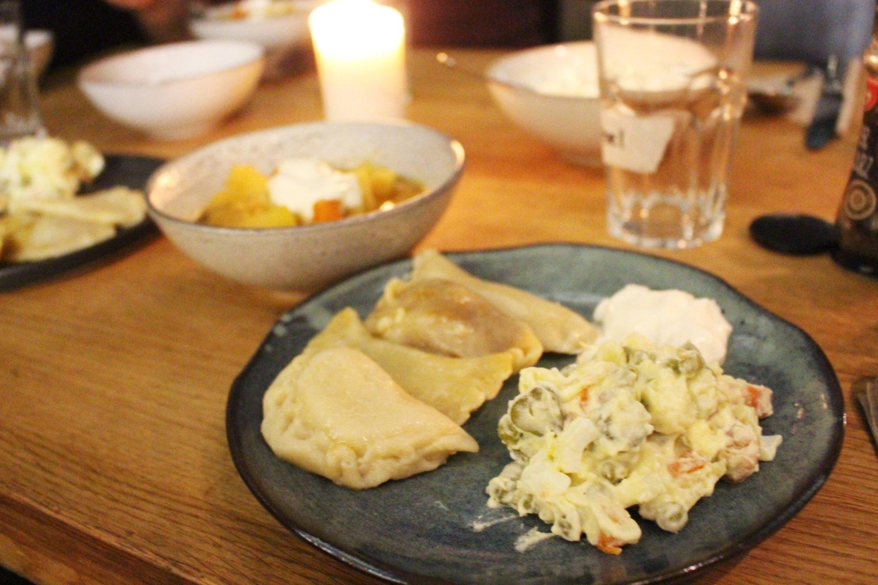 Würzburg kocht über den Tellerrand: russischer Salat (Olivier)