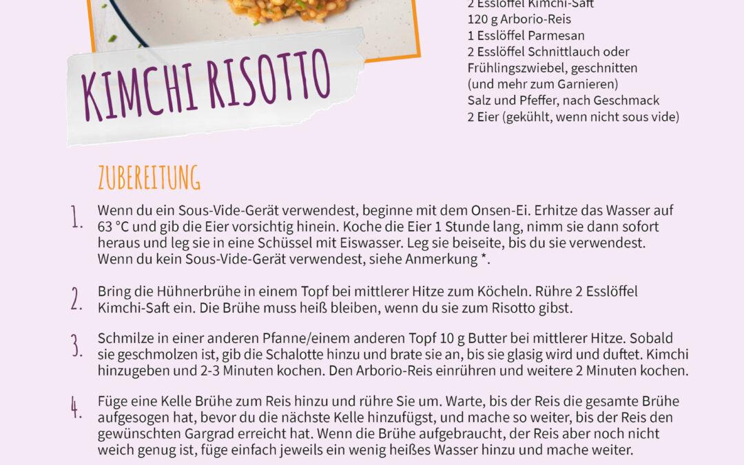 Team-Lieblingsrezepte Teil I: Kimchi Risotto