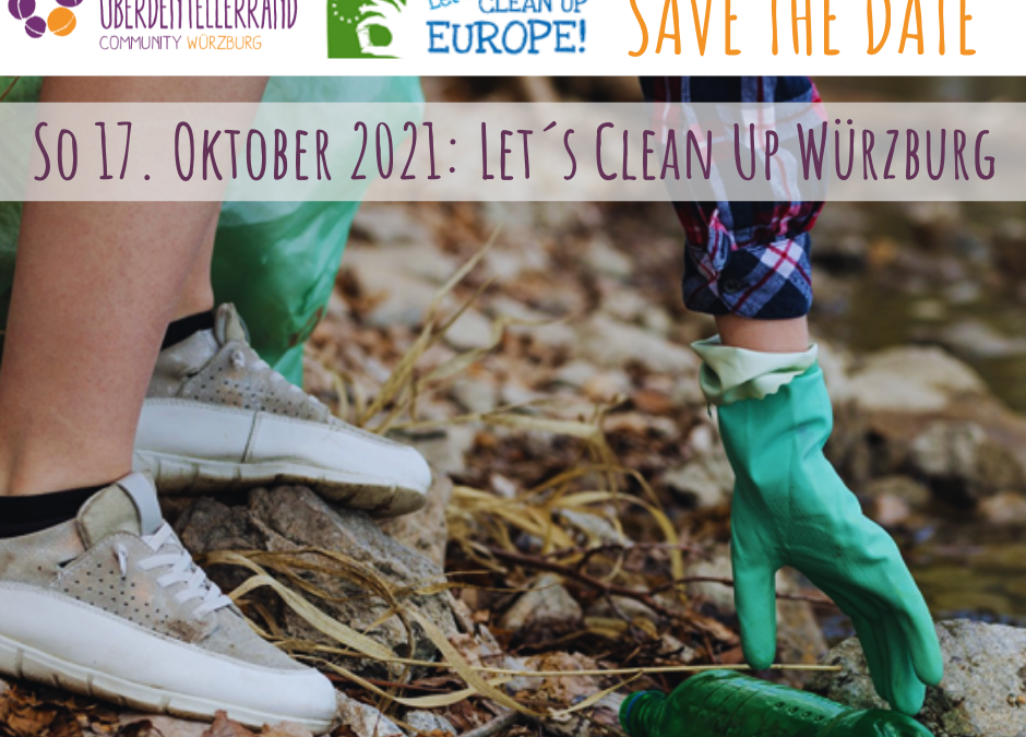 Save the date: Let's Clean Up Würzburg